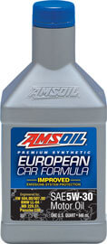 AMSOIL European Car Formula 5W-30 Improved ESP Synthetic Motor Oil