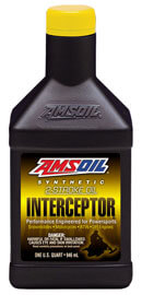 AMSOIL INTERCEPTOR® Synthetic 2-Stroke Oil